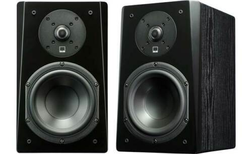 SVS Prime Bookshelf Speaker -Black Ash (Pair)  **Open Box**