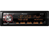 Pioneer MVH-X560BT MECHLESS Bluetooth USB Ipod / iPhone / Android Car Stereo Radio Tuner RDS