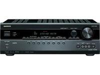 Onkyo TX-SR508 plus Onkyo HTP-538 speaker set plus Onkyo UP-A1 Ipod dock