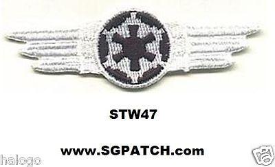 STAR WARS WHITE TIE FIGHTER WING PATCH - STW47