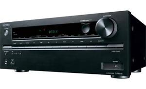 Onkyo TX-NR646 7.2-Ch Dolby Atoms Network A/V Receiver with Wi-F