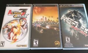 PSP COLLECTION OF GAMES