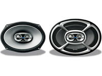 infinity reference 9623i 300W 3 Way 6X9 Car Audio Speakers (with Vauxhall astra MK5 custom Panel)