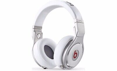 Beats Pro - Beats by Dre White (USED **sound only comes from ONE SIDE**)