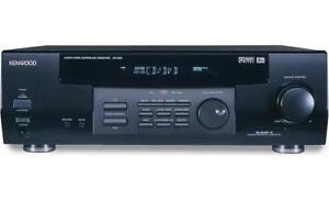 Kenwood VR-505 500w Amp & A/V Receiver – Excellent Condition
