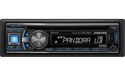 ALPINE CDE-136BT CD Player/MP3 In Dash Receiver Deck Car Audio