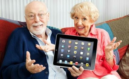In Home IPad Lessons For Seniors
