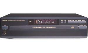 Denon DCM-270 PCM 5 CD Auto Changer