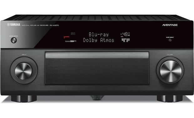 Yamaha AVENTAGE 9.2-Ch. 4K Ultra HD A/V Home Theater Receiver Black RX-A3070BL