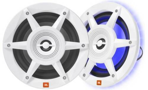 "NEW JBL Stadium Marine MW6520 6.5"" Premium 2-Way Speaker w/ RGB Lighting"