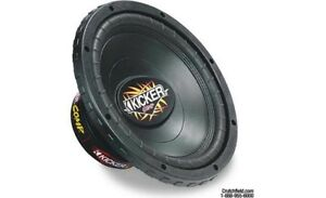 Kicker subs amp and box