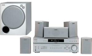 Speakers and Receiver:  Sony HT-DDW760