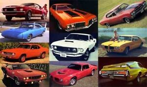 Sell me your classic muscle car looking for a turn key or projec