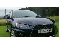 Mitsubishi Outlander 2.2D GX3, 4x4, 7 setaer with Leather seats