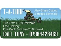 turf delivered to you no delivery charge kerbside