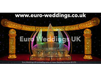 Asian Wedding Services Bradford - Cheap Mehndi stages and Wedding stages