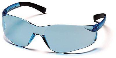 3 PAIR PYRAMEX ZTEK INFINITY BLUE SAFETY GLASSES