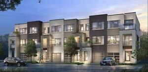 NEW TOWN HOMES FOR SALE IN BURLINGTON near GO Station From the