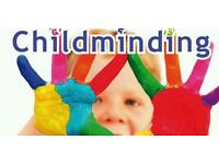 Childminder available in childs own home