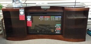 Media Console with electric fireplace Kitchener / Waterloo Kitchener Area image 1