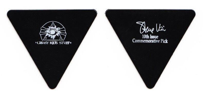 Steve Vai Signature Black Triangle Guitar Pick 1990 Passion Tour