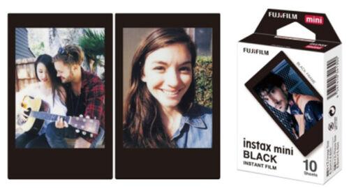 Fujifilm Instax BLACK Frame Film 30 Sheets - Fuji Mini 7s 8 9 70 90 Camera SP-2