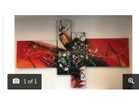 Large Colourful Canvas Wall Art