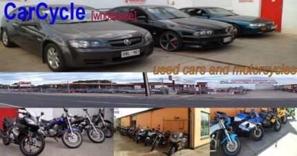 SWAP YOUR UNWANTED MOTORCYCLE FOR A CAR TODAY