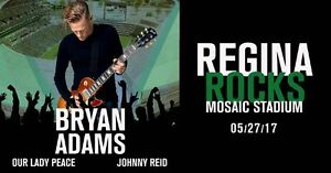 2 Regina Rocks tickets at cost - Good Seats 4 lower price range