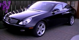 MERCEDES BENZ CLS  550  LADY OWNER /NO WINTERS/MINT