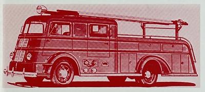 1986 Darley Fire Apparatus Photo Album Firefighting Engines Equipment Magazine