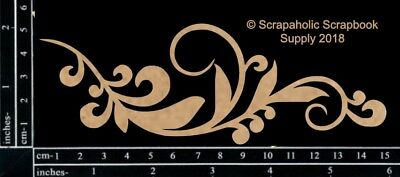 Scrapaholics Chipboard - Fancy Flourish