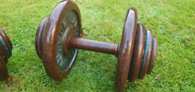 2x 20kg Dumbells (40kg Total)