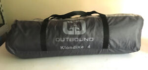 Outbound KlondiKe 4-person Tent