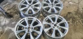 "Ford Fiesta Vignale 17"" wheels £150ono"