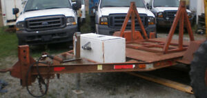 J&J Cable Reel Trailer