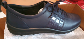 Hotter navy comfy shoes - Size 7 - BNIB