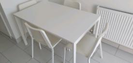 IKEA Table + 4 chairs
