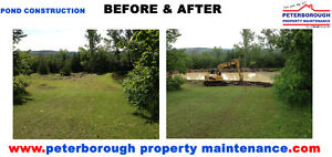 AGRICULTURAL POND INSTALLATIONS Peterborough Peterborough Area image 2