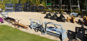 SKID STEER & TRACTOR ATTACHMENTS