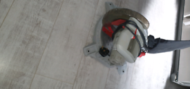 Compound mitre saw hardly used £25