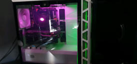 High end gaming pc i7 water-cooled