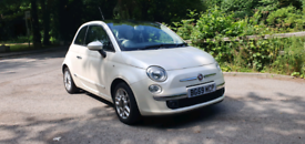 Fiat 500 1.2 Lounge 59 pate, low milage, cheap insurance