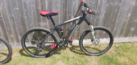 Xc two ram adults full suspension bike