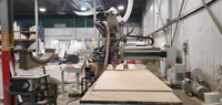 CNC ROUTER 5 X 12 table