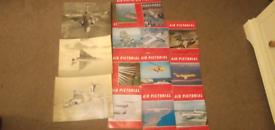 3 x Photos & 12 x Air Pictorial Magazines