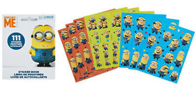 Minions Party (111 Despicable Me Stickers Party Favors Teacher Supply)