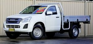 2017 Isuzu D-MAX TF MY17 SX HI-Ride (4x2) White 6 Speed Automatic Cab Chassis Lismore Lismore Area Preview