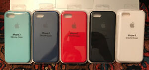 Apple iPhone 7 Silicone Cases (5 colours)
