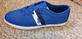Brand New Boxed Blue Ralph Lauren Trainers Size 8